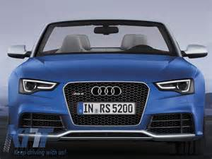 front bumper audi a5 8t facelift 2013 up rs5 design