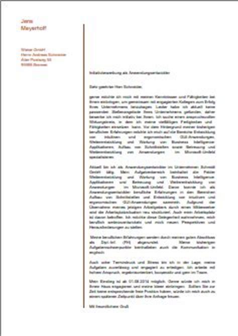 Anschreiben Bewerbung Headhunter Vorlagen F 252 R Die Bewerbung Als Anlagenmechaniker