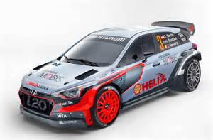 Rallye Hyundai 2016 Hyundai I20 Wrc Car Revealed Performancedrive