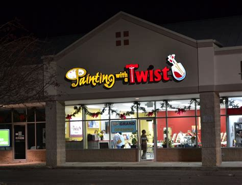 paint with a twist locations twist detroit painting with a twist franchise location