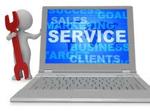 Tis Service Desk Means by 3d Rendering Support Growth Investments Stock Photo