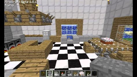 kitchen ideas for minecraft minecraft kitchen design and ideas youtube