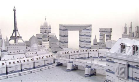 How To Make A City Out Of Paper - cities built with cardboard boxes designtaxi