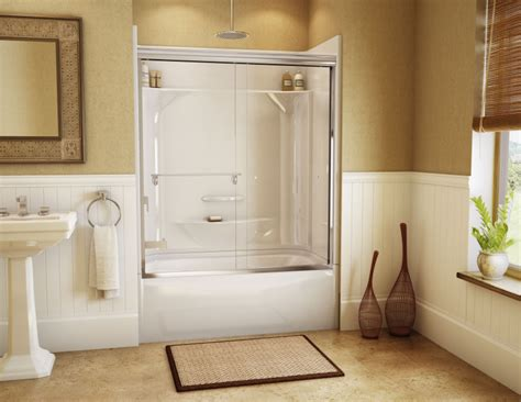bathroom tubs and showers ideas photos kdts 2954 alcove or tub showers bathtub maax