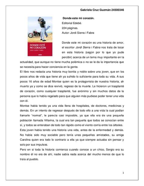 libro dnde est spot un recension de libro 1 donde este mi corazon