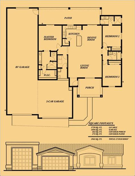 rv port home floor plans 1000 ideas about rv garage on pinterest rv garage plans