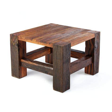 wilmot reclaimed oak coffee table by oldsoul reclaimed oak