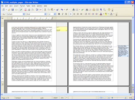 microsoft word page layout side by side openoffice org 3 0 s new features an early look