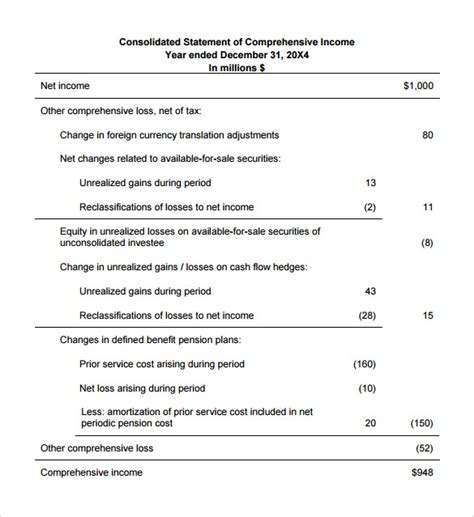 income statement formats sle income statement format 8 documents in