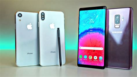 iphone xs max iphone xr 2018 models vs note 9 s9 more