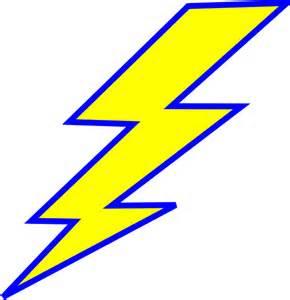 Lightning Bolt Light In Car Lightning Bolt Clip At Clker Vector Clip