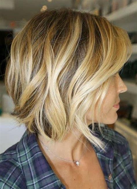highlight best for bob side view of short wavy bob cut best bob haircut for