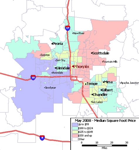 zip code map for phoenix map of phoenix arizona zip codes my blog