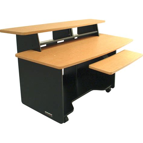 Omnirax Presto 4 Audio Video Workstation Presto4 B B H Photo Omnirax Presto Studio Desk