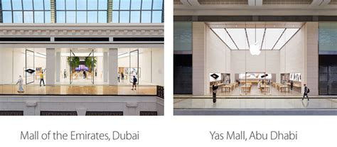 apple yas mall middle east s first apple stores finally opening in the uae