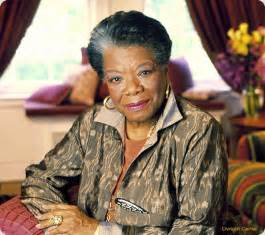Claire celebrity maya angelou