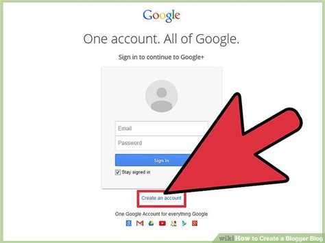 blogger account 3 ways to create a blogger blog wikihow