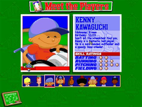 kenny backyard baseball kenny backyard baseball 28 images 25 signs you were