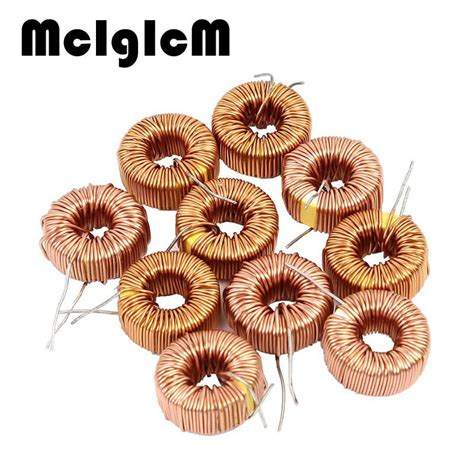 inductor 10uh toroidal 5pcs toroid inductor 3a winding magnetic inductance 22uh 33uh 47uh 100uh 220uh 330uh 470uh us611
