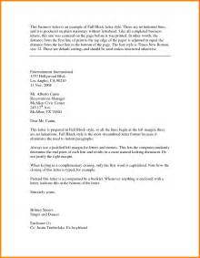 Business Letter Exles Block Business Letter Block Lettering Format Business Letter This Business Letter Is An Exle Of