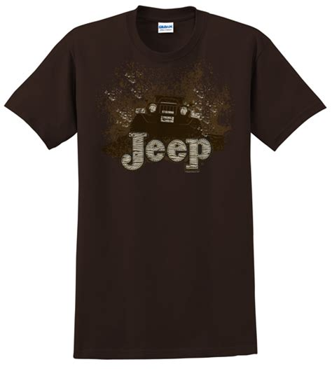 Jeep Shirt All Things Jeep Jeep Quot Mudbogging Jeep Quot S Brown Shirt
