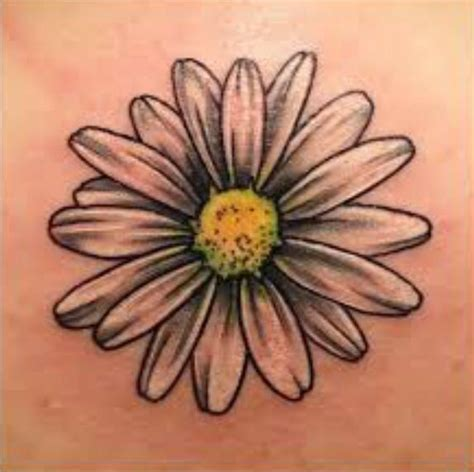 daisy tattoo design best 25 designs ideas on white