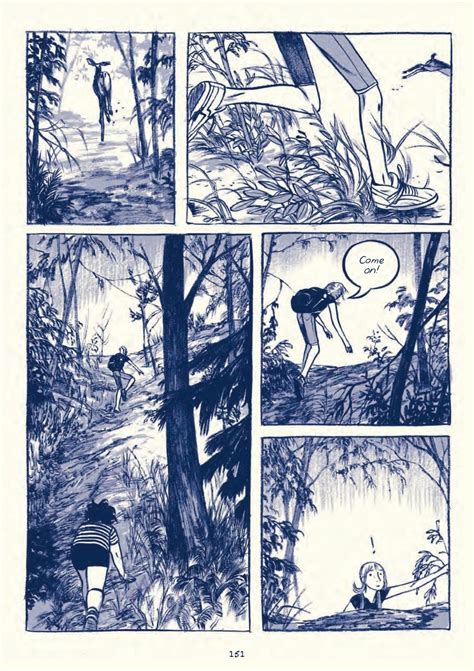 graphic novel layout pages this one summer by mariko tamaki jillian tamaki