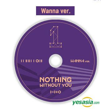 Wanna One Album Nothing Without You Wanna Versi yesasia wanna one mini album vol 1 repackage 1 1 0 nothing without you wanna version 2