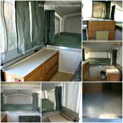 Rockwood Travel Trailers Floor Plans pop up camper makeover the curtains part 1 the pop up