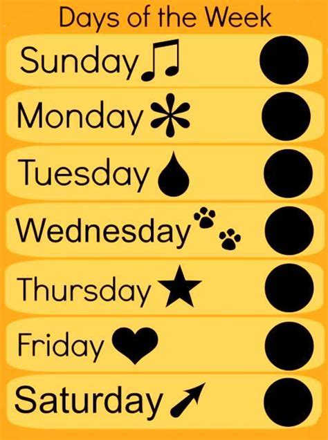 all the days of week days of the week poem author diana arco