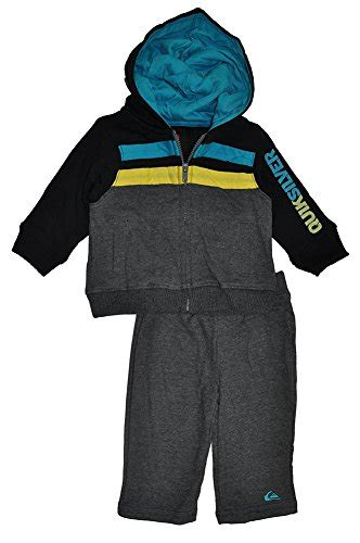 Hoodie Quiksilver Abu Abu quiksilver baby boys infant two pieces hoody gray 24 months in the uae see prices