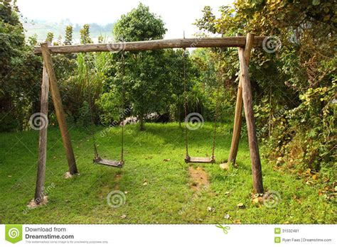 wooden bench swing sets pictures of wooden swing set rustic wooden swing set