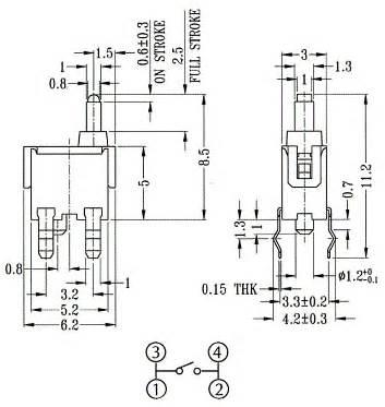 Lcd Tc Apple I Series 1 3 8mm Original Apple 100 Kd 002612 series tc snap in type tact switches bentex