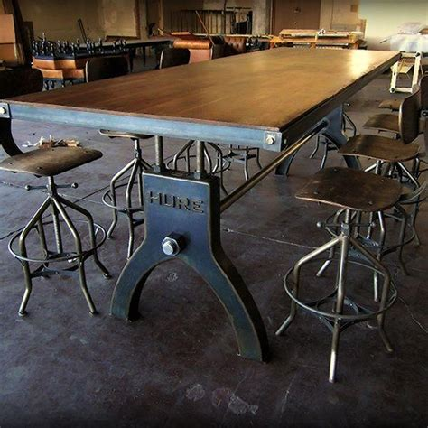 best 25 industrial dining tables ideas on pinterest 20 industrial style dining tables dining room ideas