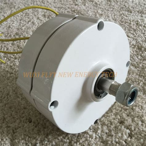 sale 100w 12v 3 phase ac permanent magnet alternator