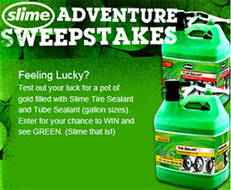 sweepstakes slime adventure prizes giveaway - Free Slime Giveaway