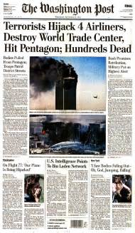9 11 History Essay by Newspaper Front Pages From September 12 2001 9 11 Remembered Ten Years On Abc News
