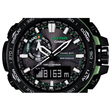Protrek Prw 6000 Black Rosegold casio mens pro trek prw 6000 price in pakistan