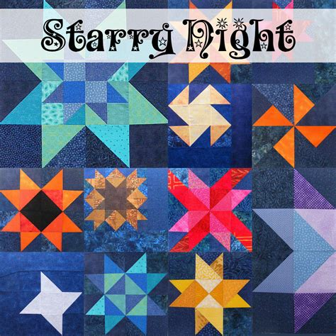 Starry Quilt Pattern by Starry Quilt 2013 Block Of The Month Series