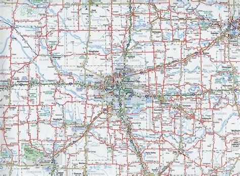 road map of oklahoma and texas odot 2007 highway map central oklahoma