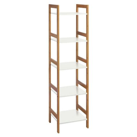 bamboo 5 shelf bookcase 121 best living images on black and