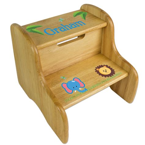 Personalized Baby Gifts Step Stool by Personalized Step Stool
