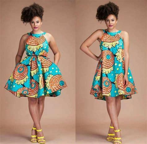 Modèle Robe En Pagne Africain Wax 2017