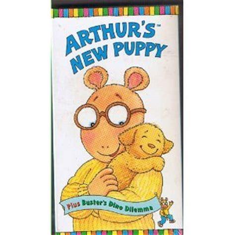 arthur s new puppy arthur arthurs new puppy busters dino dilemma vhs arthur tv