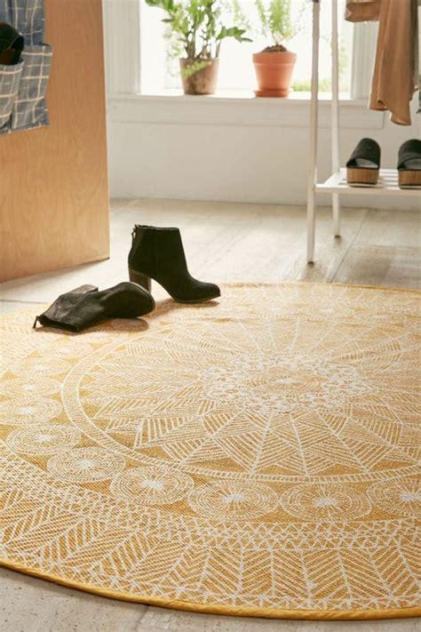 teppich rund muster teppich rund 40 innendesigns mit rundem teppich die