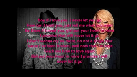 anthony hamilton ft hilson never let go lyrics