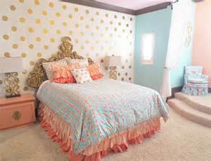 coral pink bedroom ashlyn s coral and gold regal room project nursery