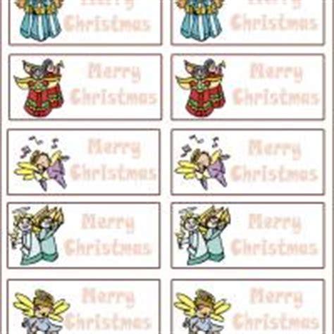 printable angel name tags gift tags santa gift tags halloween gift tags set 2