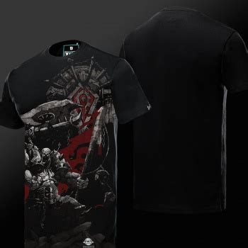Hoodie Zipper Dota Aliance Harmony Merch world of warcraft horde logo sweatshirt black wow hoodies wishining