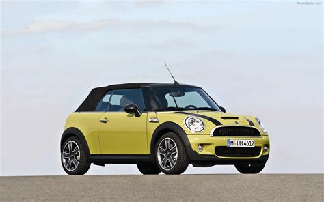 Mini Car bmw mini convertible widescreen car wallpaper 03 of 24 diesel station
